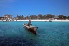Tansania-Pirogue Stockbilder