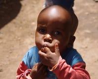 Tansanisches Baby Stockfotografie