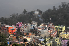 Tansen colored houses Stock Photography