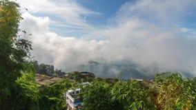 Tansen em Nepal, vídeo do timelapse vídeos de arquivo