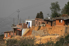 Tansen poor houses Stock Images