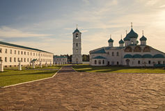 The Tansfiguration Cathedral. St. Alexander of Svir Monastery Stock Photography