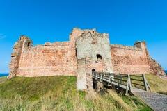 Tantallon城堡 库存照片