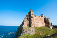 Tantallon Castle Stock Photo
