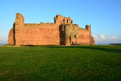 Tantallon Castle Scotland Royalty Free Stock Photography