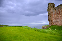 Tantallon Castle Stock Image