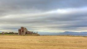 Tantallon kasztel, Północny Berwick, Szkocja Zdjęcia Royalty Free