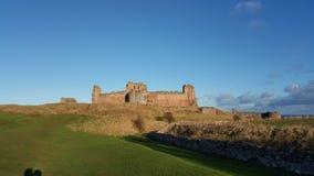 Tantallon slott arkivbild