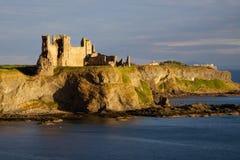 Tantallon slott, norr Berwick, Skottland Royaltyfri Fotografi