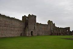 Tantallonkasteel een de 14de eeuwvesting in Schotland royalty-vrije stock afbeelding