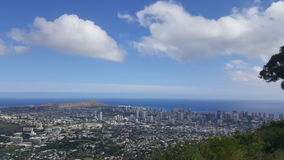 Tantalus adventures. A beautiful view from up in the mountains. You can see alot from there Stock Photography