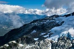 Tantalus-Berge lizenzfreies stockfoto