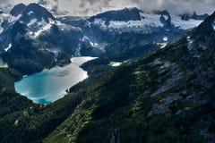 Tantalus-Berge lizenzfreie stockfotografie