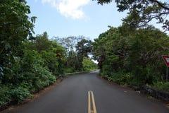 Tantalus mountain one lane bridge Royalty Free Stock Photography