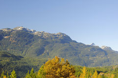 Tantalus mountain range Stock Photo