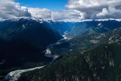 Tantalus Mountains Stock Photography