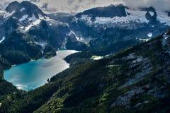 Tantalus Mountains Stock Photo