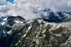 Tantalus Mountains. From the air Stock Photos