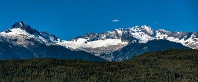 Tantalus Osiąga szczyt Kanada obrazy stock