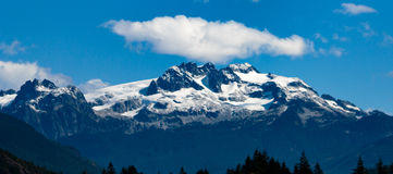 Tantalus Osiąga szczyt Kanada Fotografia Stock