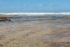 Tantan plaża w El Ouatia, Maroko Fotografia Stock