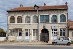 Mihailescu House  Casa Mihailescu  - old building in downtown in  Tantareni, Gorj,  Romania.