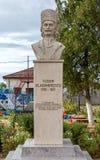 Statue of Tudor Vladimirescu in Tantareni, Gorj, Romania.
