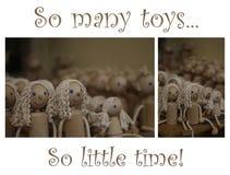 Tanti giocattoli Immagine Stock