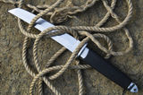 Tanto knife with a rope Royalty Free Stock Photo