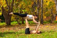 Tantra yoga Stock Image