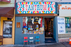 Tantrum Kids Retail Store. SAN FRANCISCO, CA - DECEMBER 10, 2015: Tantrum kids store in the Haight neighborhood of San Francisco California Stock Photos