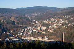 Tanvald, République Tchèque Photos stock