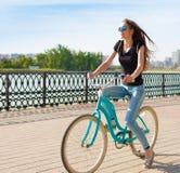 tanya Город велосипеда стоковые фотографии rf