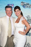 Tanya Callau,Alan Thicke Royalty Free Stock Photo
