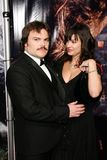 Tanya Haden,Jack Black Royalty Free Stock Image