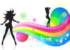 Tanz. Lizenzfreie Stockfotografie