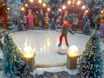 Tanz auf dem Schnee lizenzfreie stockfotografie