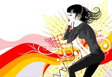 Tanz background6 lizenzfreie stockfotografie