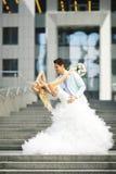 Tanz in der Stadt Stockfotos
