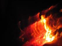 Tanz des Feuers stockfoto