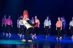 Tanz-Drama der Bergdorf-Hochzeits-3-Lilac stockbilder