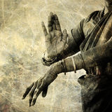 Tanz für Shiva Stockfotografie