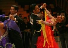 Tanz, IDSF Str. Lizenzfreies Stockbild