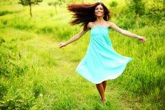 Tanz im Wald Lizenzfreies Stockfoto