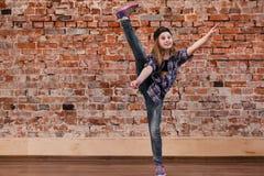 Tanz ist Leben Glück beim Bewegen Stockfotografie