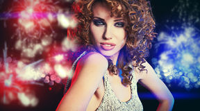 Tanz-Königin stockfoto