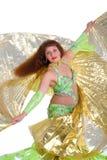 Tanz mit Flügel Stockbild