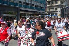 2014 Tanz-Parade Lizenzfreie Stockfotografie