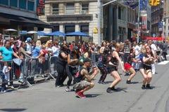 2014 Tanz-Parade Lizenzfreie Stockbilder
