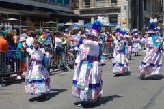 2014 Tanz-Parade Lizenzfreies Stockbild